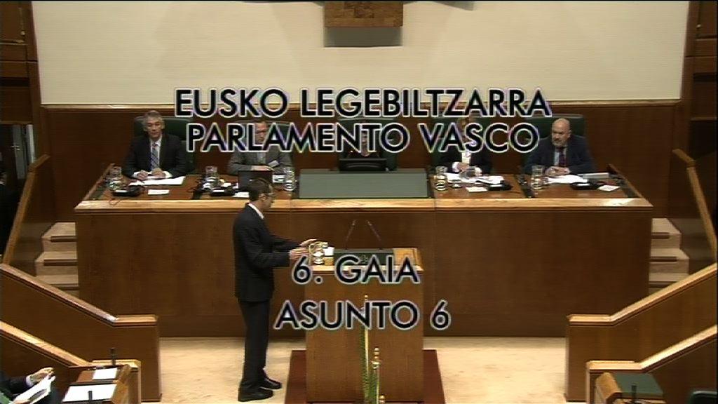 "Lehendakari: ""Euskadi necesita acuerdos en positivo"" [24:53]"