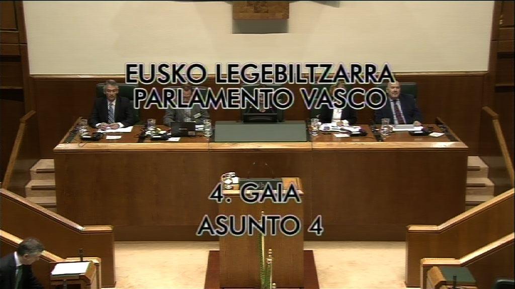 Pleno de control. (10/05/2013) [9:00]