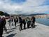 Ana Oregi visita las instalaciones portuarias de Bermeo que cargan más de 250 mil toneladas de mercancías anuales