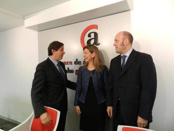 Arasur plataformak euskal logistikaren eskaintzan duen garrantzia nabarmendu du Oregik
