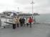 Ana Oregi asiste a la puesta en servicio de la plataforma para vela en el puerto de Hondarribia
