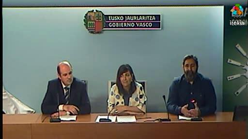 """Rueda de prensa presentación bandera """"Euskadi Basque Country"""" [16:22]"""