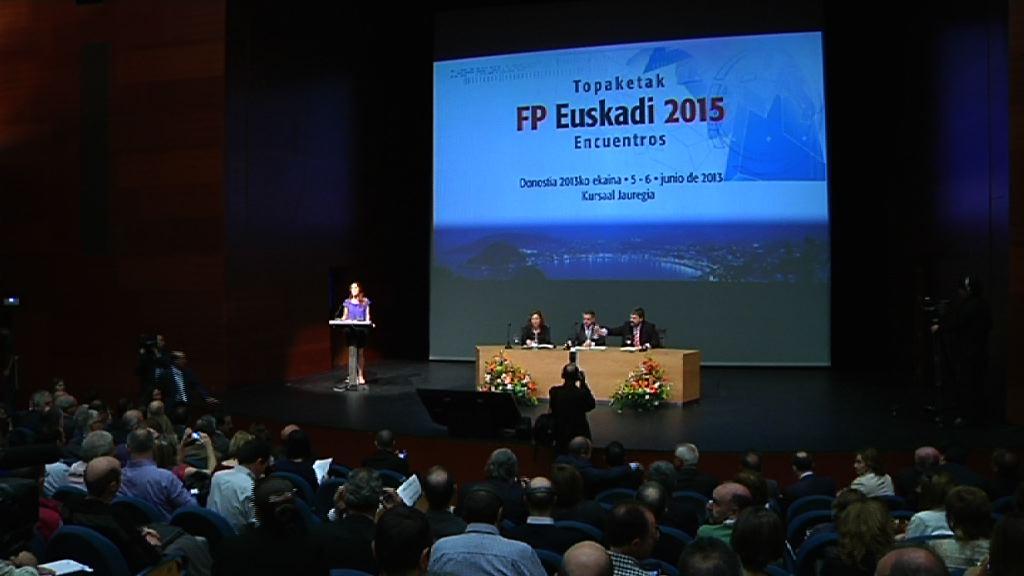 Euskadi debe reinventar su Formación Profesional  [41:40]