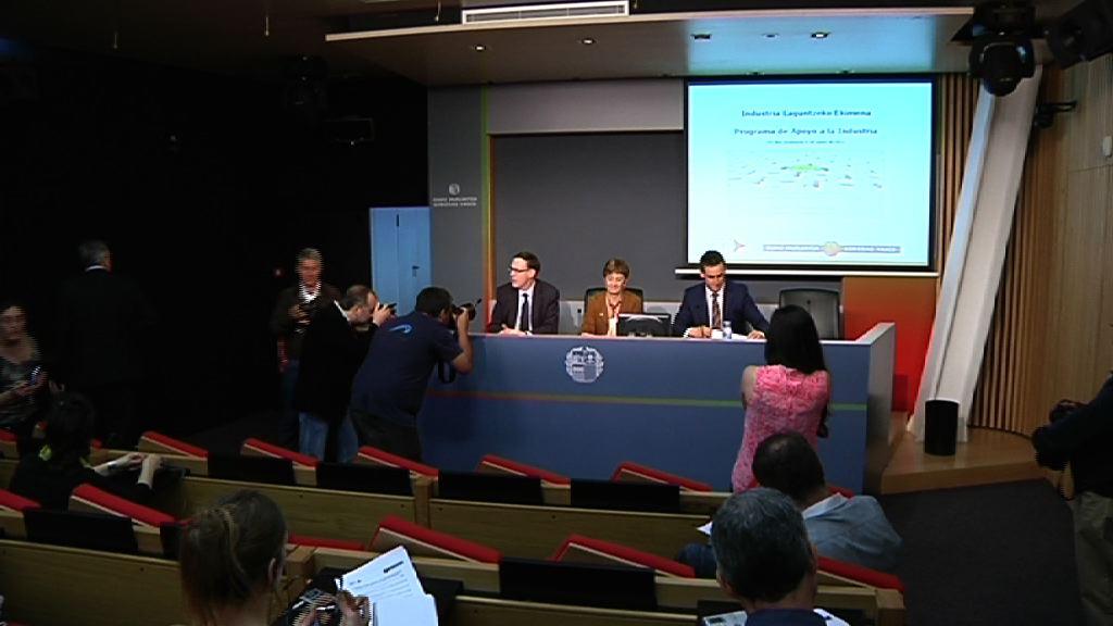 El Gobierno vasco destina 757 millones de euros en el marco del Programa de Apoyo a la Industria [49:18]