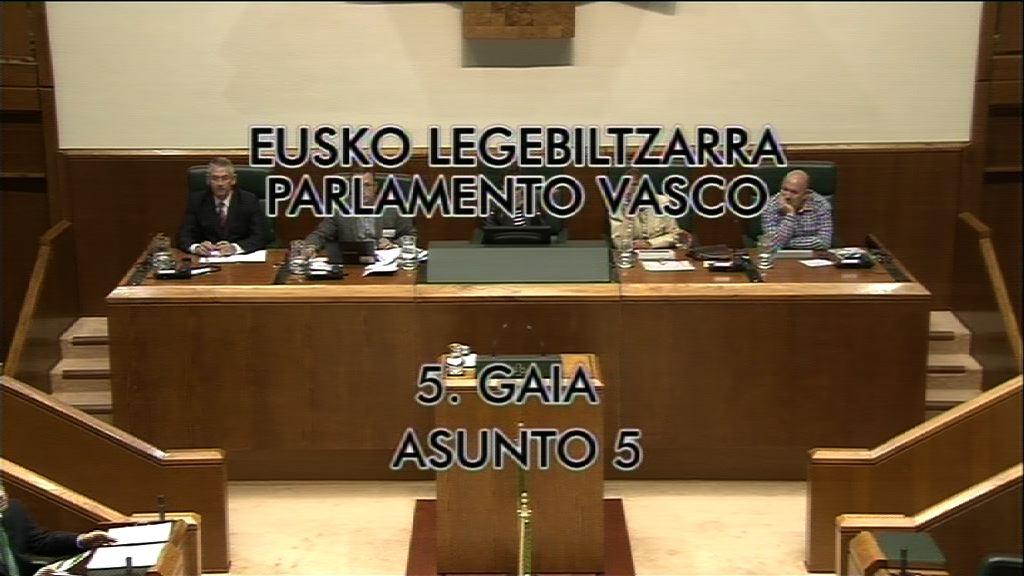 """El Lehendakari asegura que la LOMCE colocaría a Euskadi en el """"pelotón de los más torpes de Europa"""" [8:56]"""