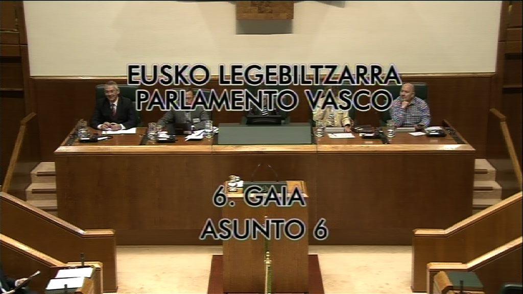 """El Lehendakari asegura que la LOMCE colocaría a Euskadi en el """"pelotón de los más torpes de Europa"""" [24:02]"""
