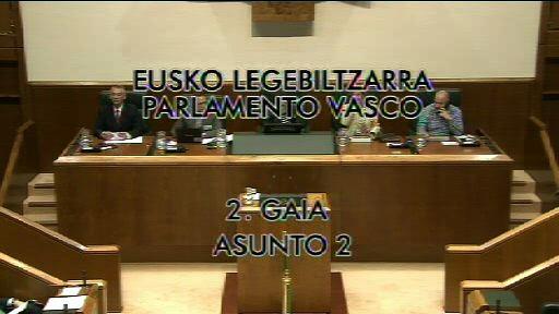 """El Lehendakari asegura que la LOMCE colocaría a Euskadi en el """"pelotón de los más torpes de Europa"""" [8:48]"""