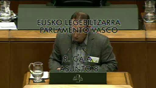 """El Lehendakari asegura que la LOMCE colocaría a Euskadi en el """"pelotón de los más torpes de Europa"""" [19:43]"""
