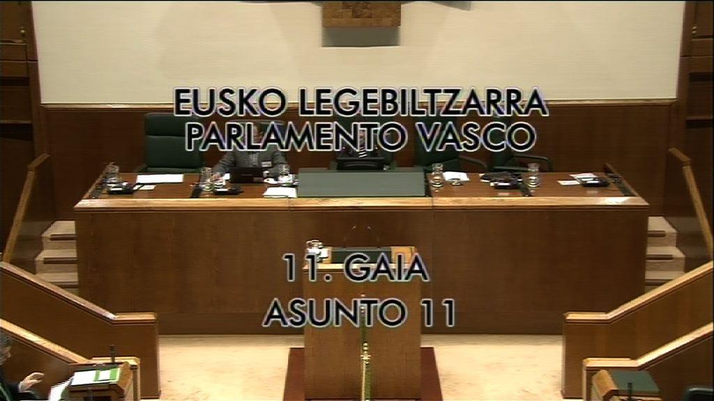 """El Lehendakari asegura que la LOMCE colocaría a Euskadi en el """"pelotón de los más torpes de Europa"""" [8:52]"""