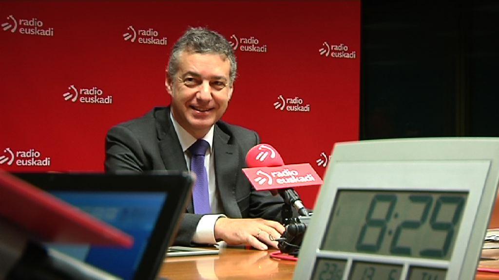 Lehendakariari elkarrizketa bat egingo diote Radio Euskadiren Boulevard saioan [44:16]