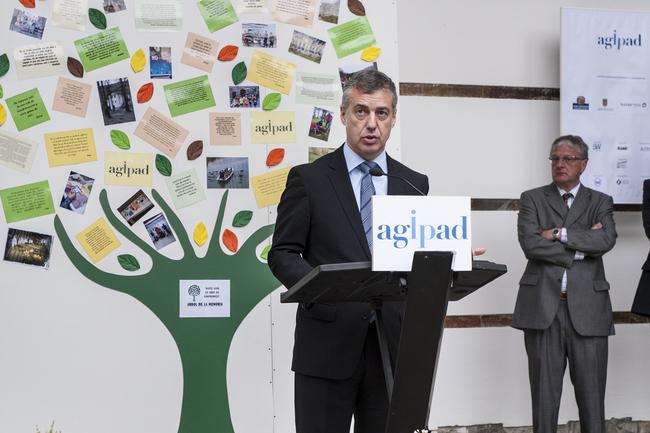 El Lehendakari destaca el valor social de AGIDAP, Asociación Gipuzkoana de Investigación y Prevención del Abuso de Drogas