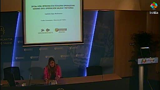 La Dirección de Tráfico espera un ligero descenso del número de vehículos en tránsito por Euskadi [17:14]