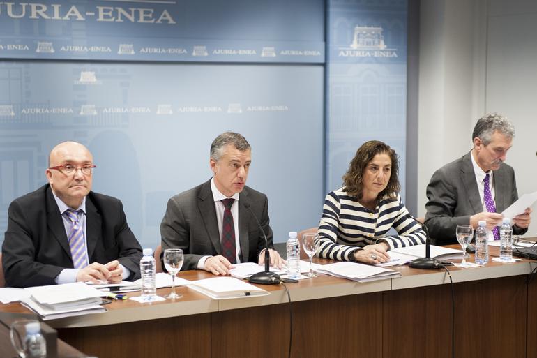 """Lehendakari: """"Debemos conseguir que el incremento del uso del euskera sea un objetivo común"""""""