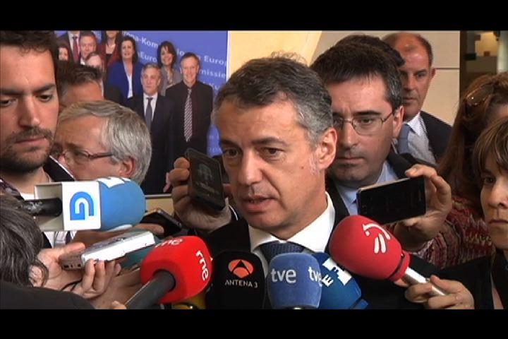 El Gobierno Vasco reitera su preocupación pero considera que aún hay tiempo para que Almunia replantee su decisión [0:24]