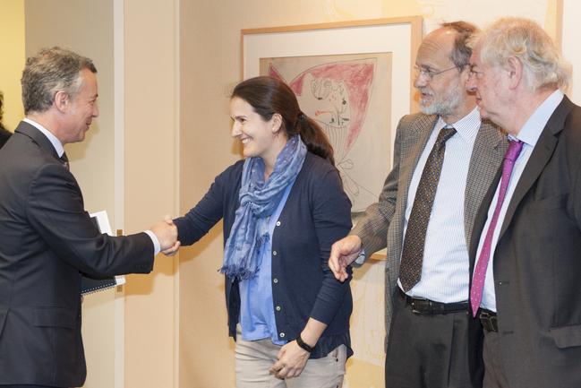 Lehendakaria Euskadiko korporazio teknologikoetako eta Ikerketa Kooperatiboko zentroetako arduradun nagusiekin bildu da