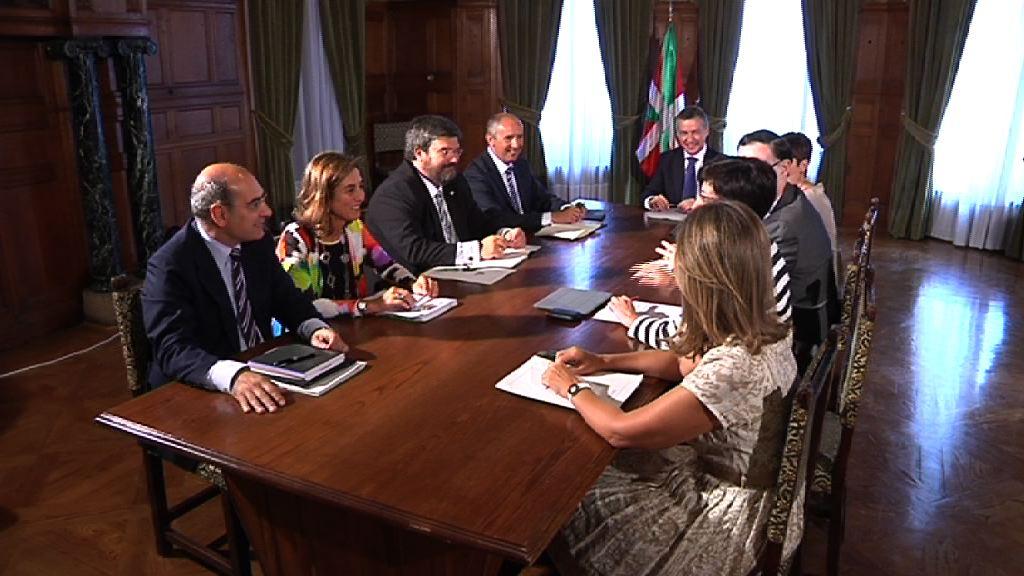 El Lehendakari llama a la concertación ante los retos de futuro de Euskadi [51:15]