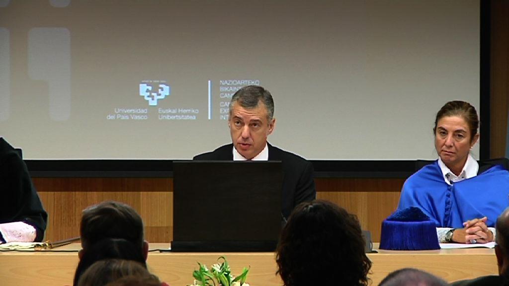 """""""Vamos a seguir edificando Euskadi desde la concertación"""" [12:28]"""