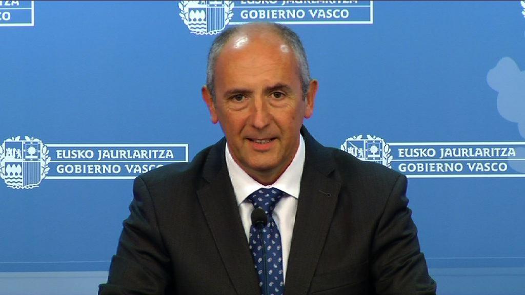 """El Gobierno Vasco cree que el acuerdo es """"el impulso a la economía productiva y a la creación de empleo"""" [38:51]"""