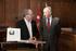 Josu Erkoreka y Juan Karlos Izagirre firman un convenio que permite el intercambio online de datos entre ambas Instituciones