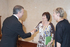 El Lehendakari recibe a los organizadores de Kilometroak