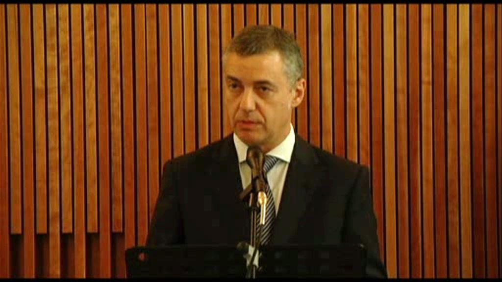 El Lehendakari se ha reunido con la Solomon Guggenheim Foundation para ratificar el compromiso de colaboración [8:13]