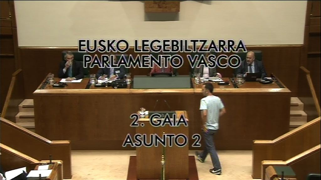 Pleno de Control caso Iurbenor, grupo EH Bildu [9:03]