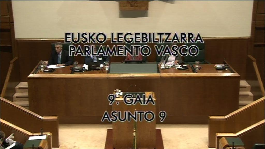 Pleno de Control Guggenheim, grupo  Popular Vasco [8:41]