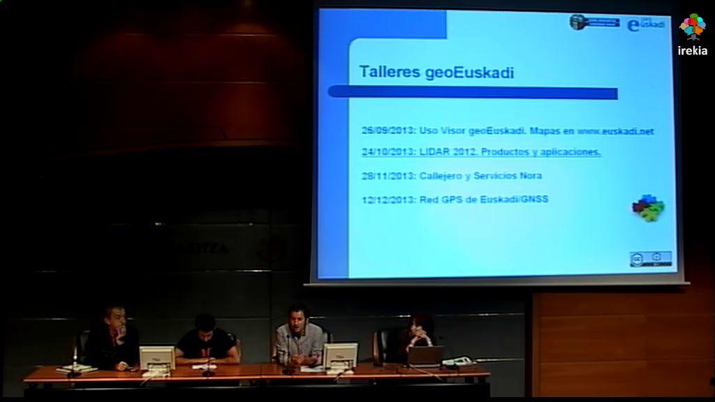 """Taller geoEuskadi. """"LIDAR 2012. Productos y aplicaciones"""" [2:45]"""