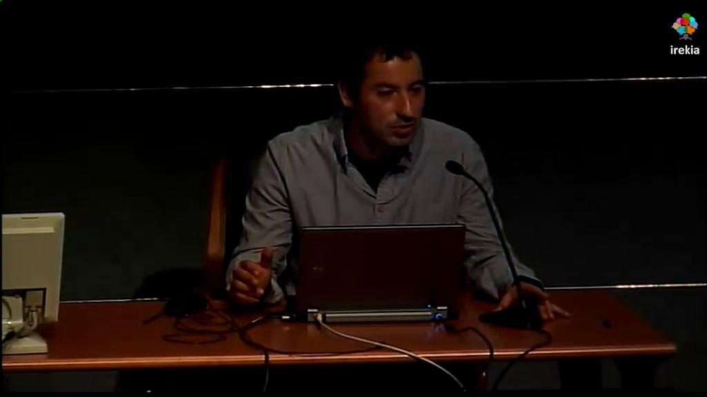 """Taller geoEuskadi. """"LIDAR 2012. Productos y aplicaciones"""" [8:03]"""