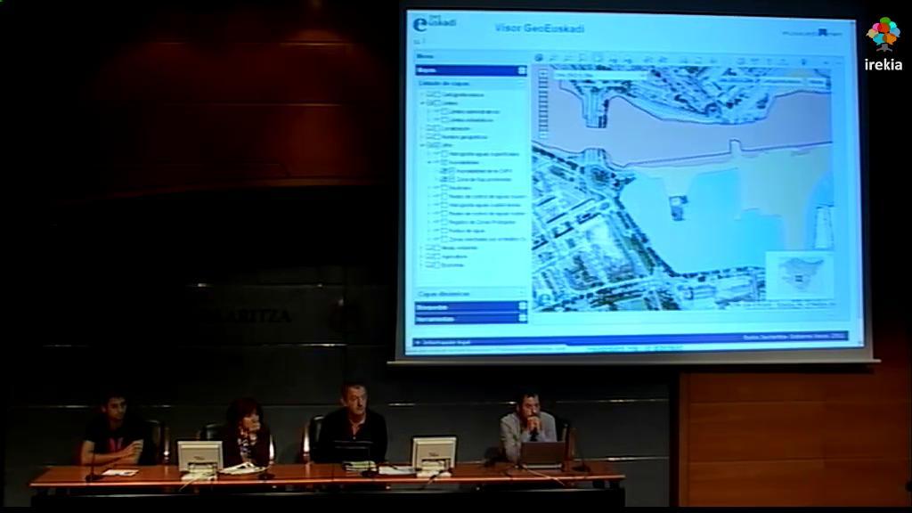 """Taller geoEuskadi. """"LIDAR 2012. Productos y aplicaciones"""" [9:39]"""