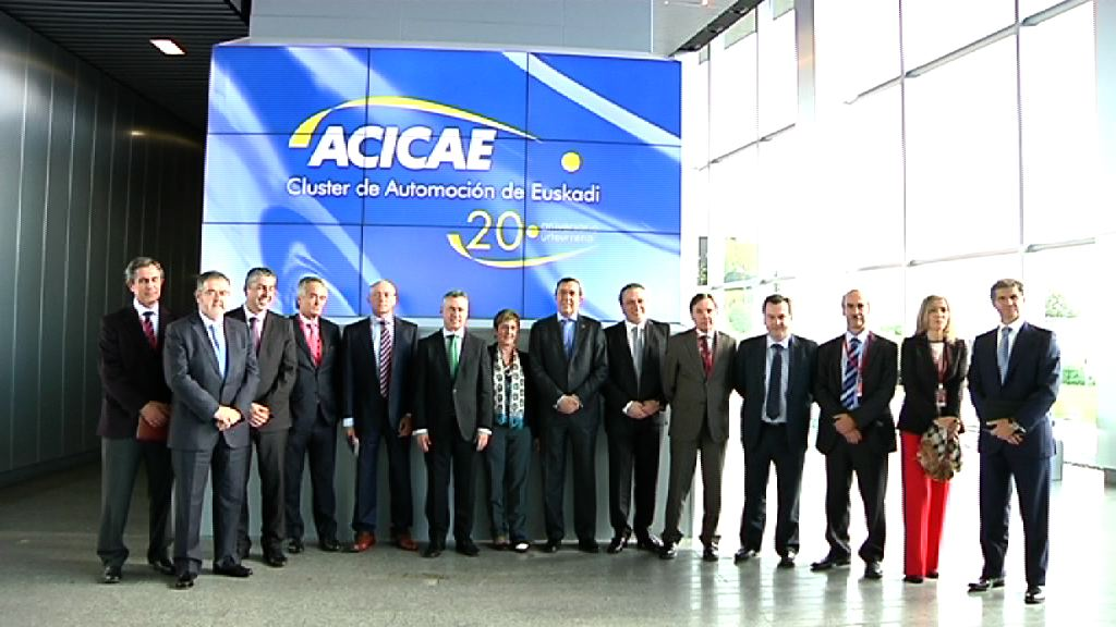 El Lehendakari visita el cluster ACICAE en su 20 Aniversario [3:23]