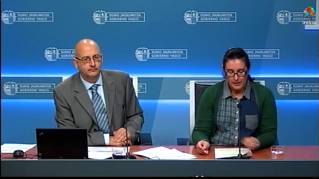 La calidad del aire en Euskadi mejora reduciéndose un 44% los niveles de PM10 y un 66% los de dióxido de azufre  [44:38]