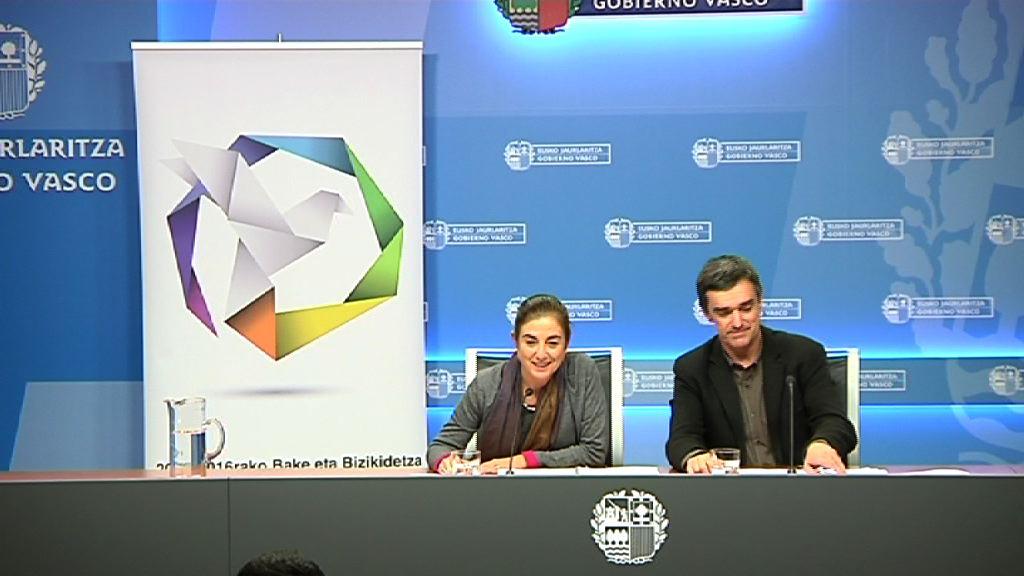 El Gobierno Vasco presenta las Bases y Proyectos Del Plan De Paz y Convivencia en el ámbito educativo [41:32]