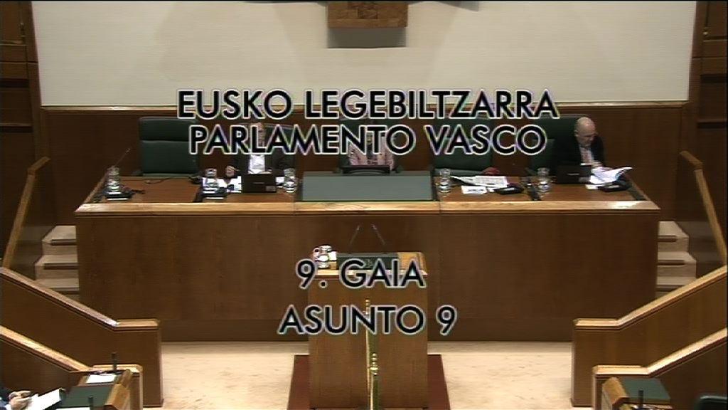 Fagor, Reyes (Grupo Socialistas Vascos) [9:23]