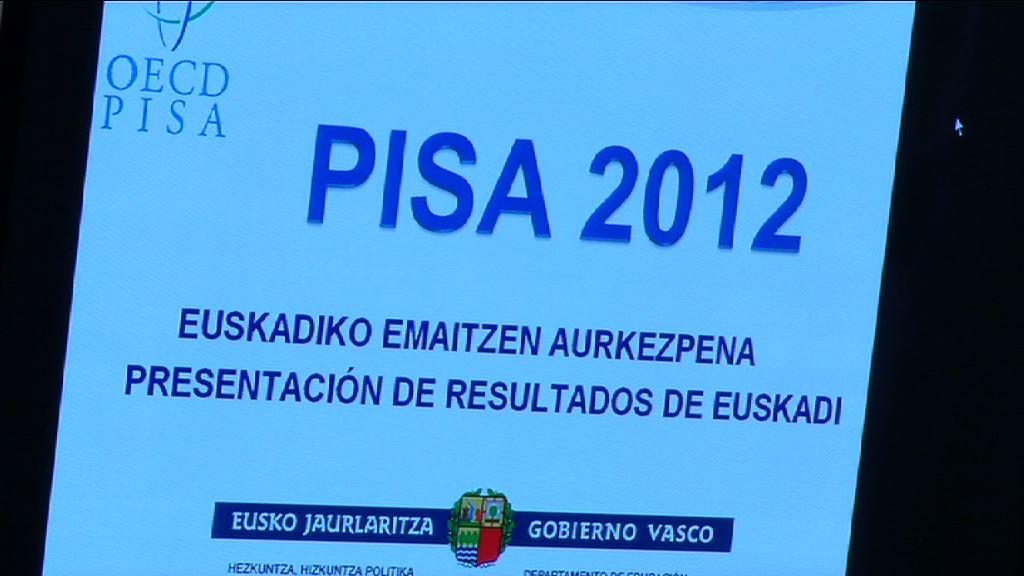 Euskadik 2012ko PISA txostenean Europak eta Espainiak baino emaitza hobeak izan ditu  [8:10]