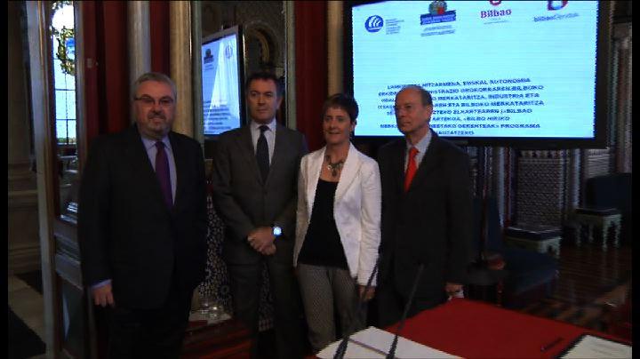 Convenio de colaboración para elaborar el Plan Estratégico del Comercio de Bilbao y definir sus líneas de actuación para el futuro [21:48]