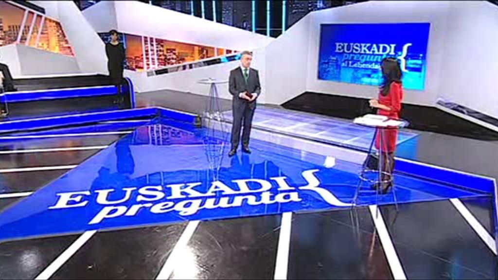 """Entrevista al Lehendakari en """"Euskadi pregunta"""" de ETB2 [106:43]"""