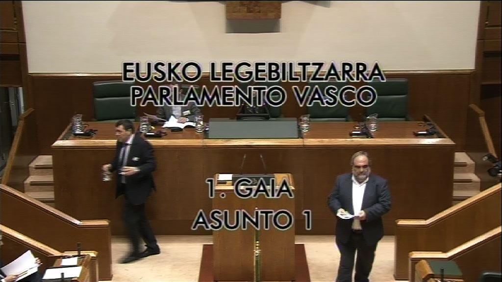 Pleno de control al Gobierno vasco [7:51]