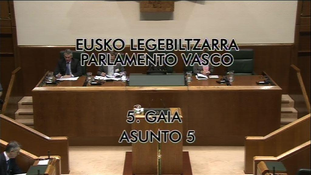 Pleno de control al Gobierno vasco [9:26]