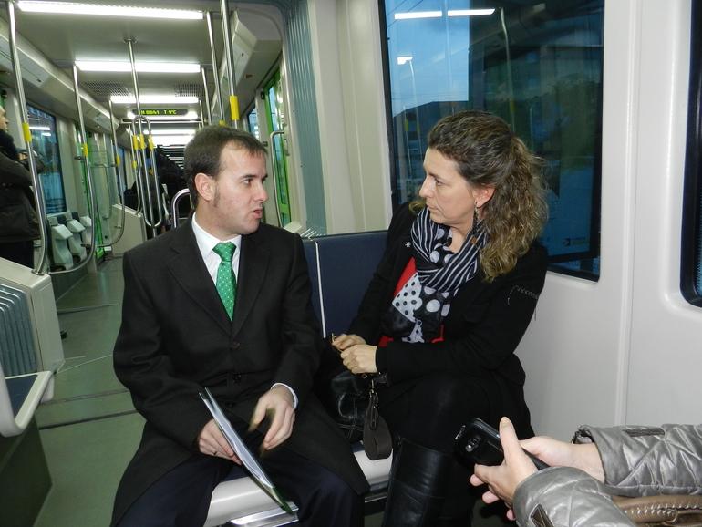 """Ana Oregi: """"el tranvía es el principal impulsor urbano de la movilidad sostenible"""""""