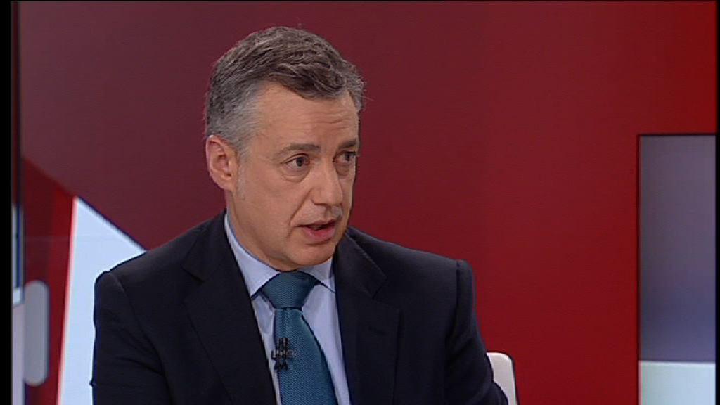 """El lehendakari espera que ETA anuncie su desarme """"cuanto antes"""" [42:20]"""