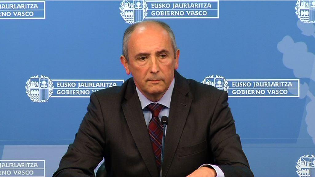 """El Gobierno vasco califica como """"paso atrás"""" las detenciones contra interlocutores de presos y llama a """"obrar en consecuencia"""" [13:53]"""