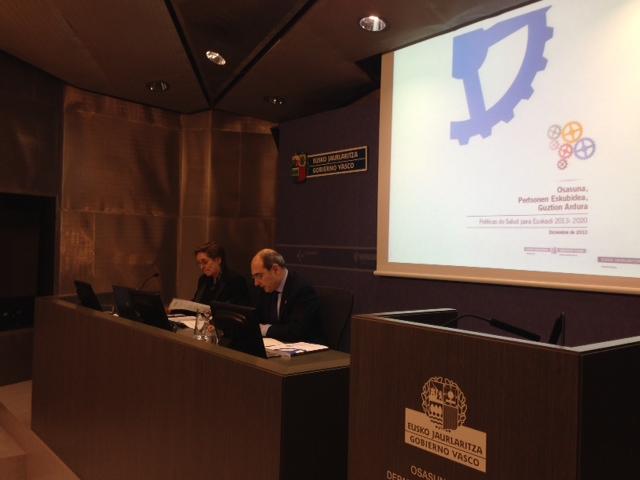 El Plan de Salud 2013-2020 del Gobierno Vasco contempla 146 acciones específicas para mejorar los resultados y la eficiencia de las políticas públicas en términos de equidad, bienestar y salud [56:10]