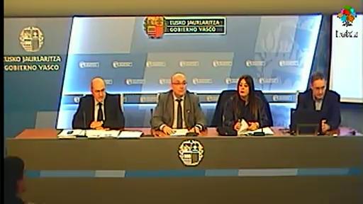 Presentación V. Plan General de Normalización del uso del euskera en el Gobierno Vasco [42:20]