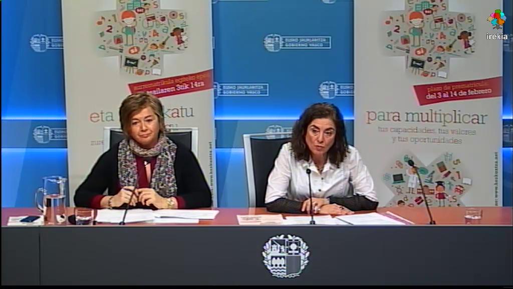 Campaña de prematrícula para el curso 2014-2015 [33:44]