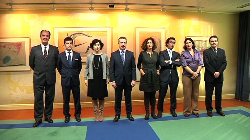 El Lehendakari recibe a las personas responsables de las Delegaciones de Euskadi en el exterior [1:02]