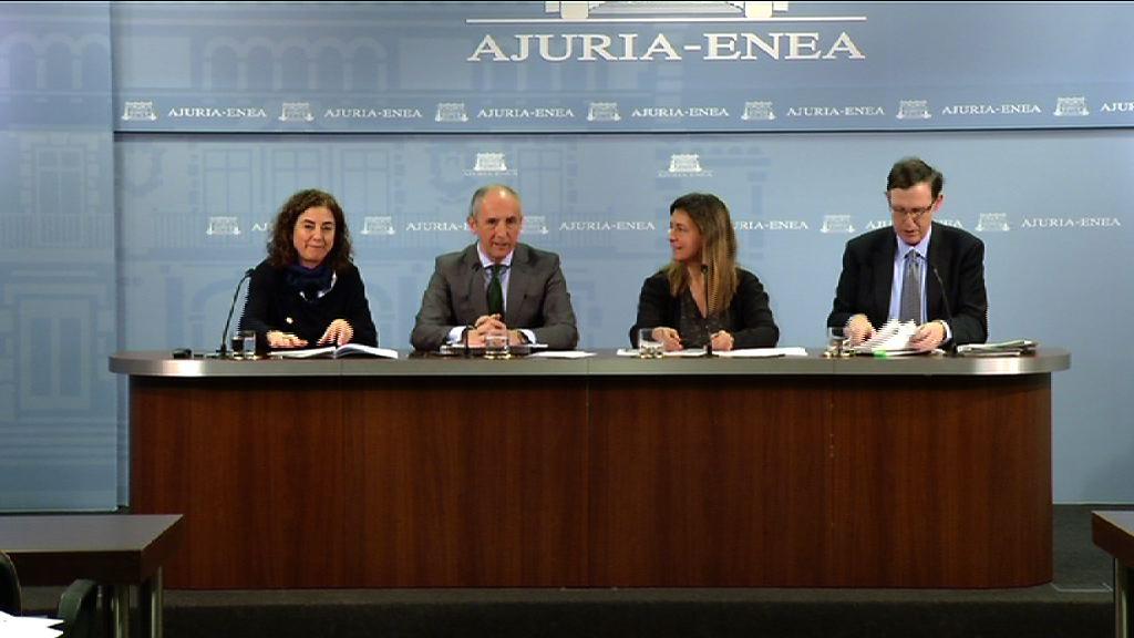 El Gobierno vasco ayudará a que pymes, empresarios individuales y autónomos al acceso a la financiación bancaria [63:44]