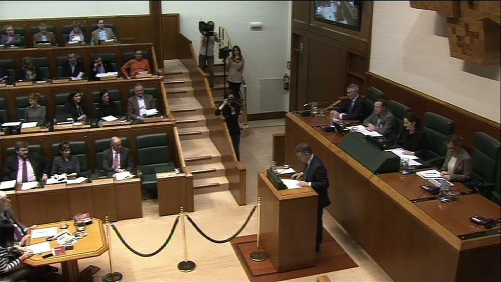 Pleno de Control al Gobierno vasco [347:58]