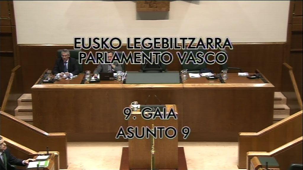 Pregunta Nerea Llanos, Grupo Popular vasco [8:35]