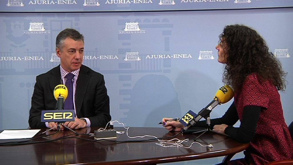 El lehendakari reclama un consenso entre gobierno vasco y español para conseguir un final ordenado de ETA [21:13]